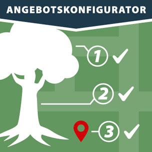 Baumpflege Angebotskonfigurator